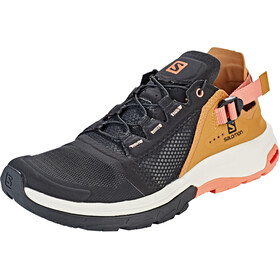 Salomon Techamphibian 4 Sko Damer, black/bistre/tawny orange